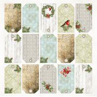 """Дизайнерски лист хартия """"Северен полюс"""" -7 - 30.5см, Craft&You Design"""