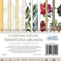"Дизайнерско блокче с елементи за изрязване ""A Christmas Garland"", 15см, PH"