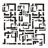 "Стенсил ""Frames"", 13@rts"