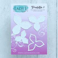 """Щанци за изрязване """"Poinsettia 2"""", Lady E Design"""