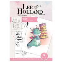 """Комплект прозрачни печати """"From Me to You"""", Lee Holand"""