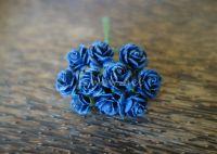 Рози, кралско синьо, 15мм
