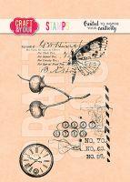 "Комплект печати ""Blooming Grunge"", Craft&You Design"