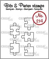 Прозрачни печати №214 - Crealies