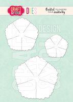 Комплект щанци за изрязване на цвете 1, Craft&YouDesign