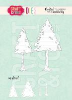 Щанци за изрязване на елхи, Craft&YouDesign