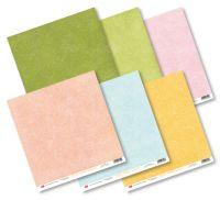 """Дизайнерски комплект базови хартии """"Pastel Paper"""", 30см, Craft&You Design"""