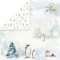 """Дизайнерски лист хартия """"Arctic Winter"""" -2 - 30.5см, Craft&You Design"""