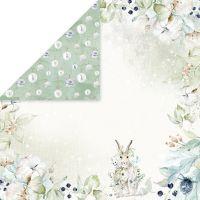 """Дизайнерски лист хартия """"Arctic Winter"""" -6 - 30.5см, Craft&You Design"""