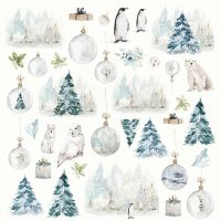 """Дизайнерски лист хартия """"Arctic Winter"""" -9 - 30.5см, Craft&You Design"""