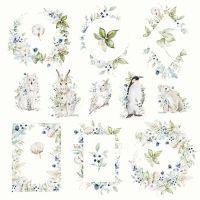 """Дизайнерски лист хартия """"Arctic Winter"""" -7 - 30.5см, Craft&You Design"""