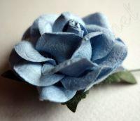 Роза, синя, 45мм