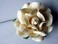 Роза, кремава, 45мм