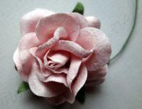 Роза, светлорозова, 45мм