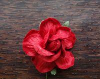 Къдрава роза, червена, 45мм