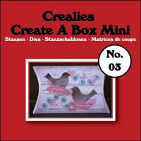 Щанца за изрязване на мини-кутийка - вариант 3