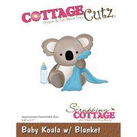 """Щанци за изрязване """"Бебе-коала"""", Cottage Cutz"""