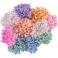 Перлени тичинки - розови, 1мм