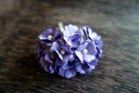 Цветя, лилави, 20мм