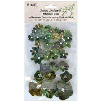"""Дизайнерски хартиени цветя """"Emerald Isle"""", 49th & Market"""